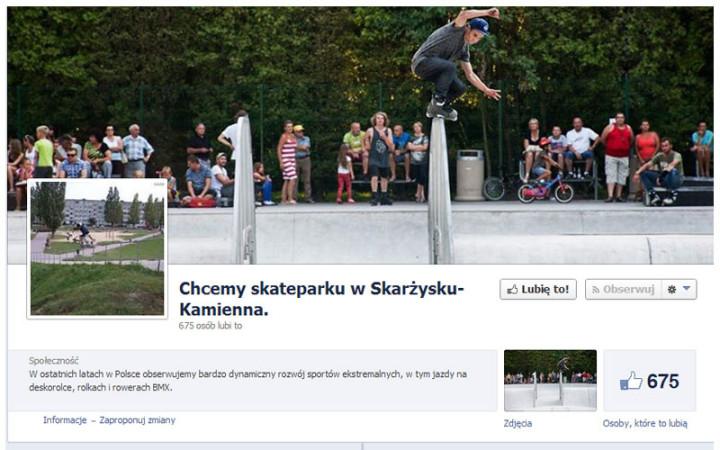 Chcemy Skytyteparku w Skarzysku